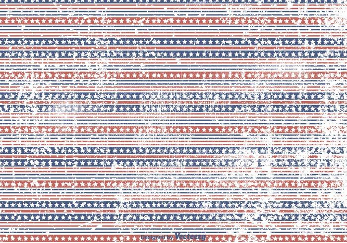 Stars and Stripes Grunge Background - Download Free Vector Art