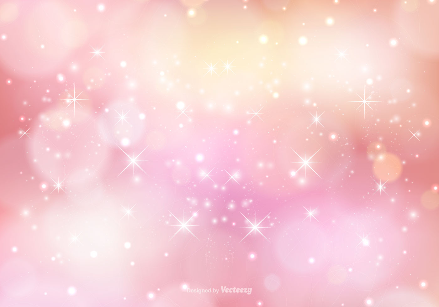 Cute Girly Pattern Wallpapers Pink Sparkle Background Illustration Download Free