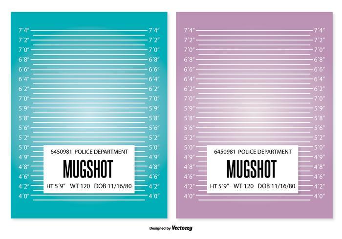 Mugshot Background Template - Download Free Vector Art, Stock