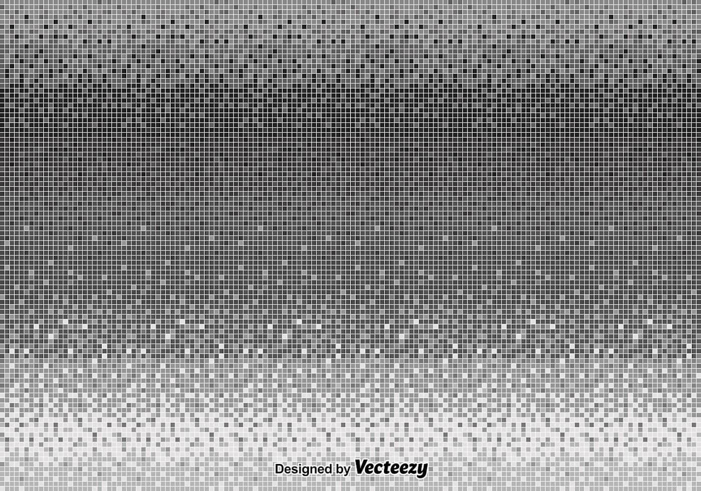 Modern 3d Wallpaper Texture Vector Gray Pixel Background Download Free Vector Art