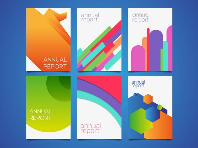 Annual Report Templates Vector - Download Free Vector Art, Stock