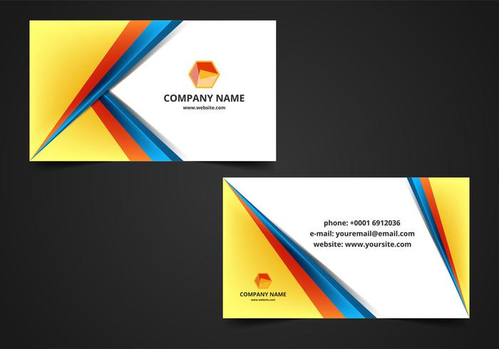 Visiting Cards Free Vector Art - (21683 Free Downloads)