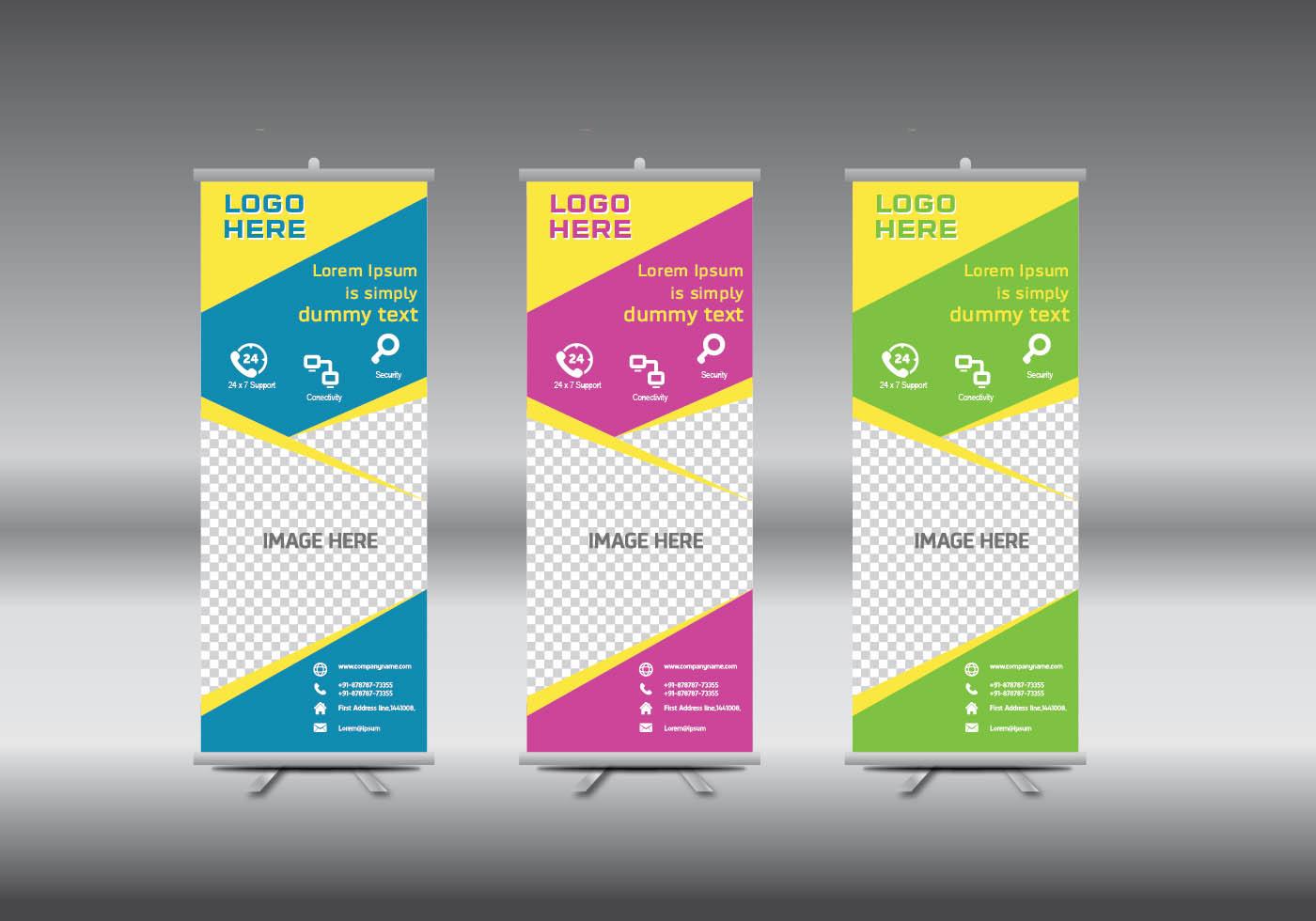 Banner Stand Design Templates - Costumepartyrun