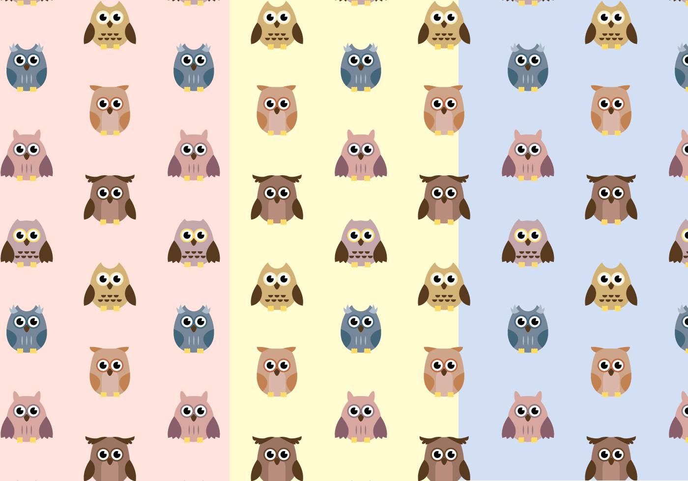 Cartoon Images Fall Wallpaper Free Owl Pattern Vector Download Free Vector Art Stock