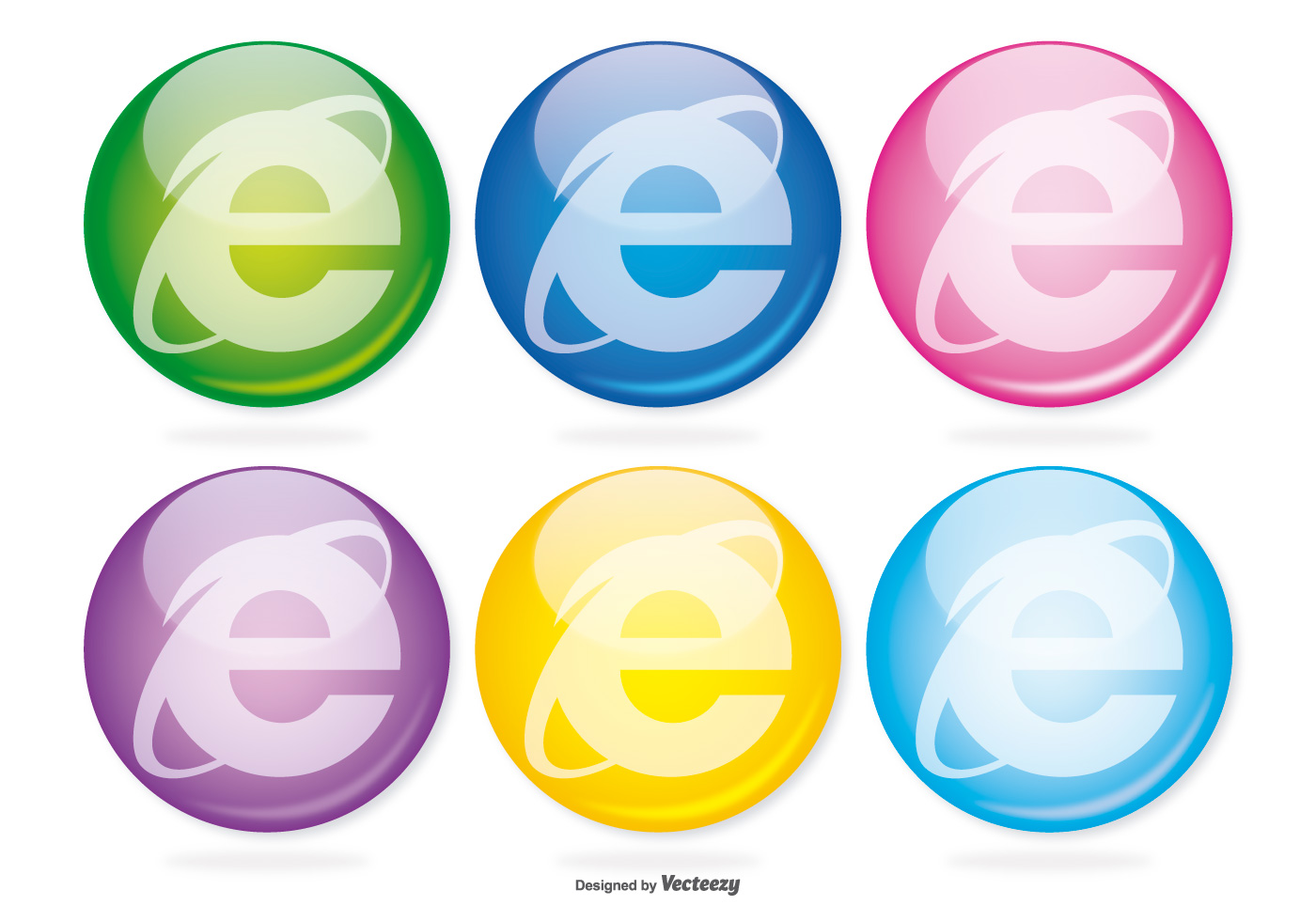 Email Icon Isolated On Special Yellow Square Button Abstract Internet Explorer Glass Icon Set Download Free Vector