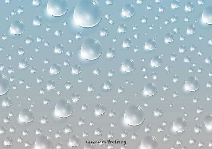 Water Drops Pattern Background - Vector - Download Free Vector Art - water droplets background