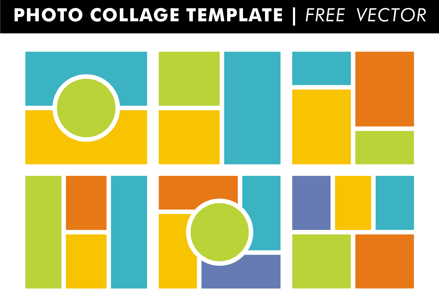 Picture Frame Collage Template – Collage Template