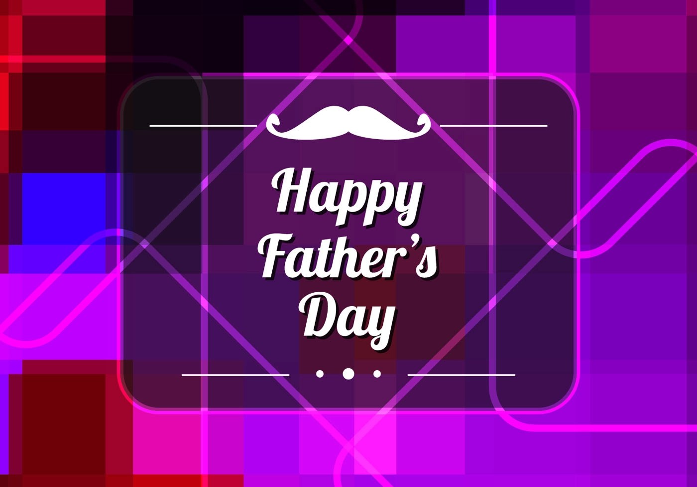 Cute Mustache Wallpaper Free Vector Colorful Father S Day Background Download