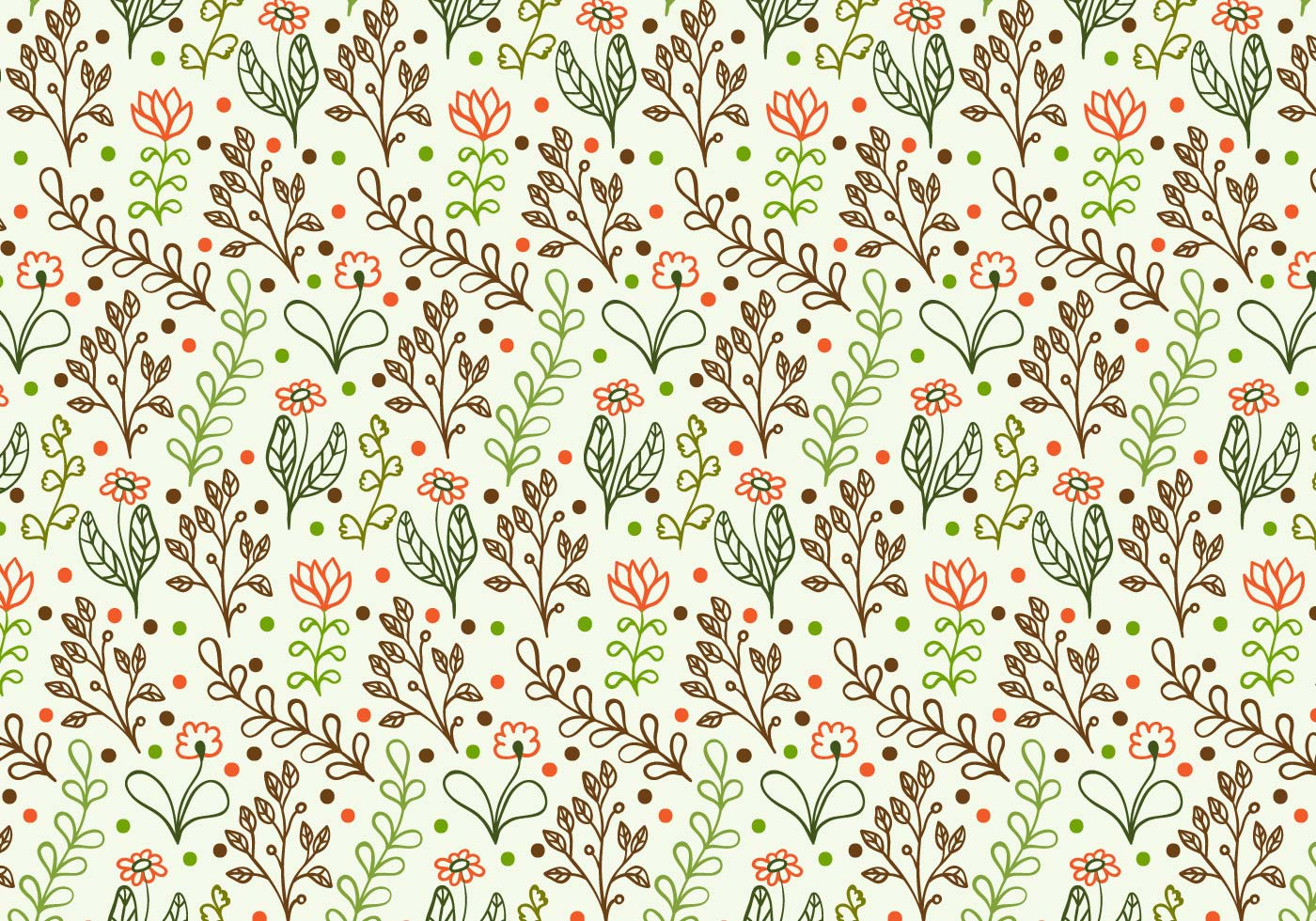 Cute Lace Wallpaper Free Vector Doodle Floral Background Download Free