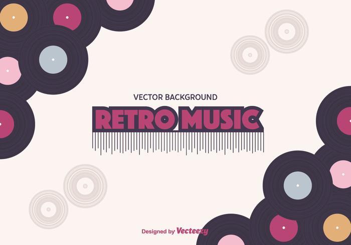 Retro Music Background - Download Free Vector Art, Stock Graphics