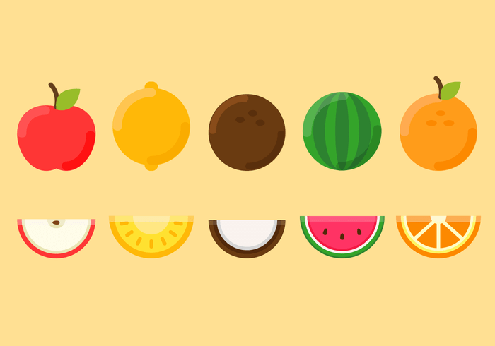 Cute Fruit Wallpaper Fruit Vector Download Free Vector Art Stock Graphics