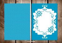 Blank Greeting Card Free Vector Art