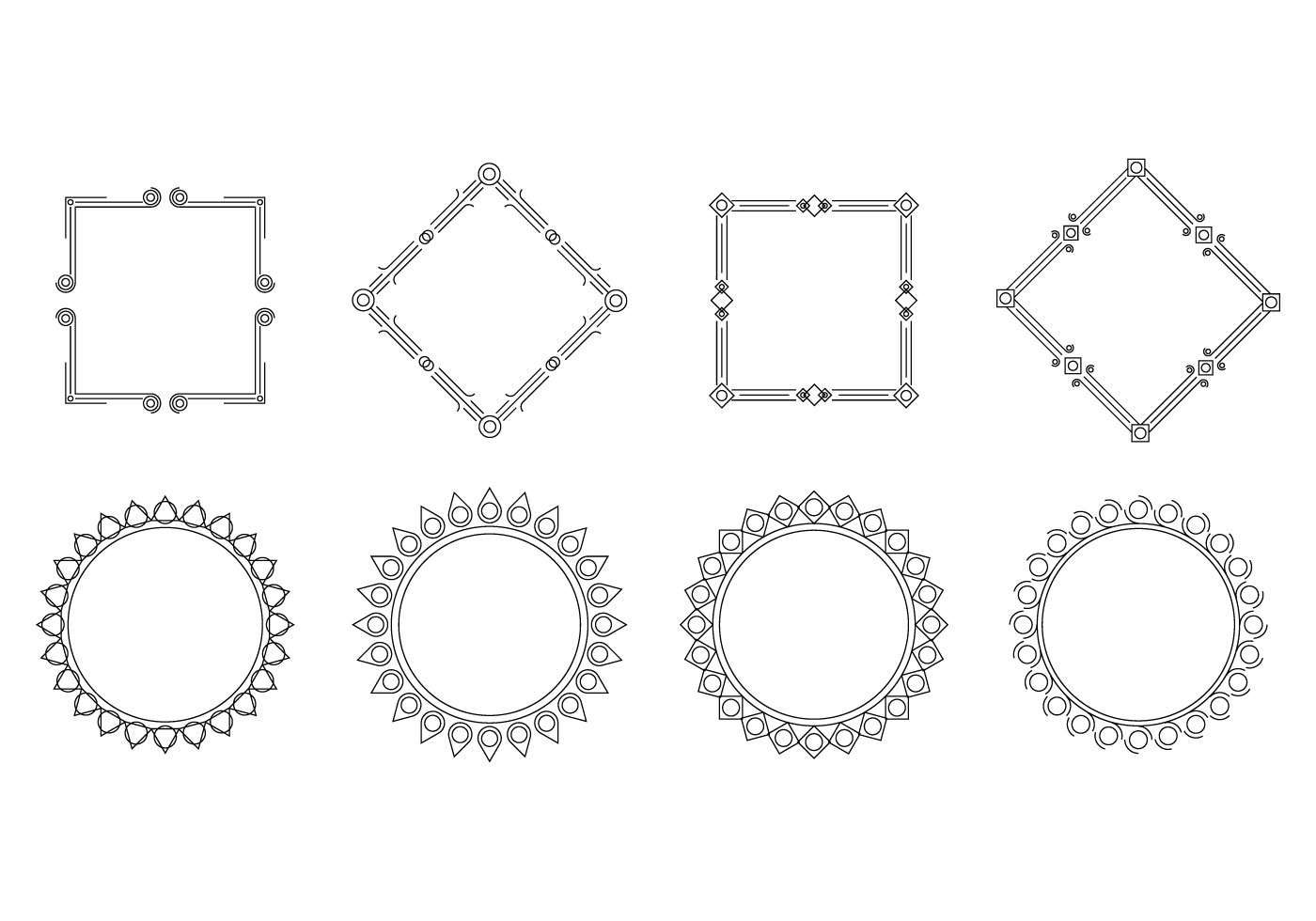 Free Cartouche Frame Vector Download Free Vector Art