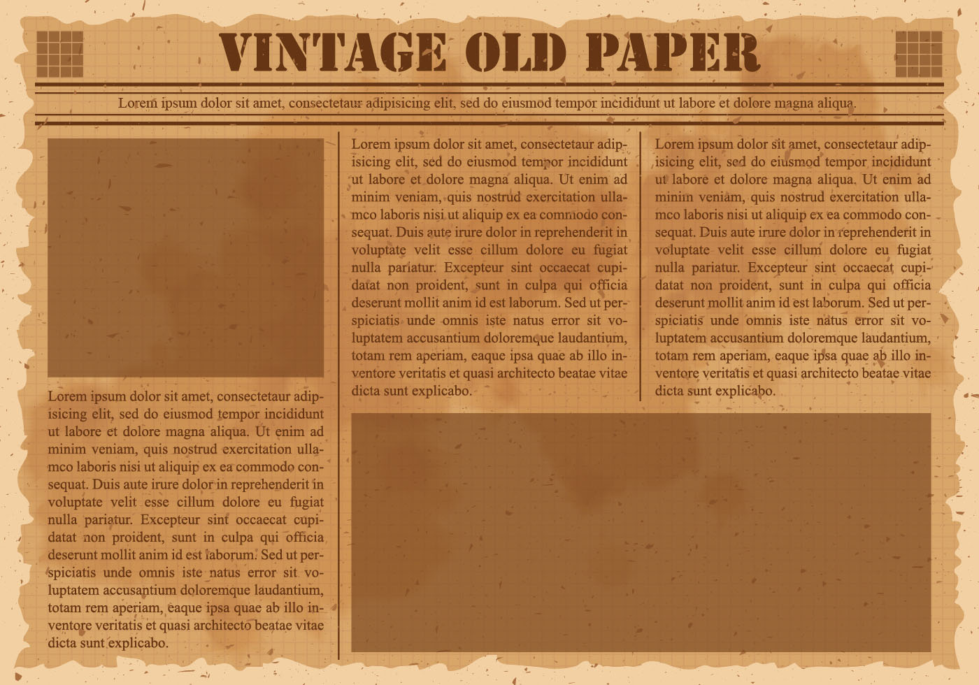 Fine Old Paper Template Word Mold - Certificate Resume Template ...