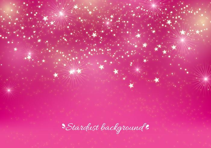 Pink vector stardust background download free vector art