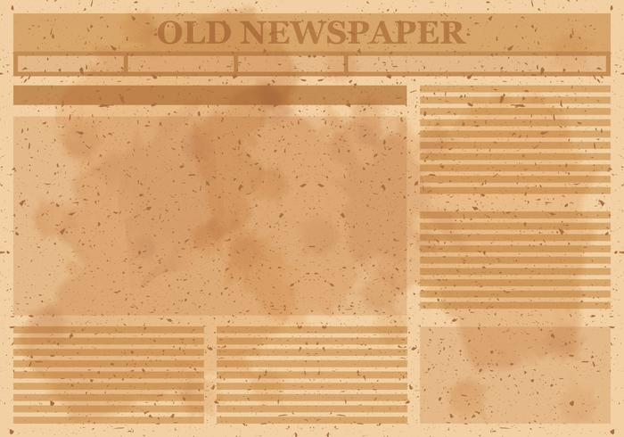 Old Newspaper Free Vector Art - (6166 Free Downloads) - old newspaper template