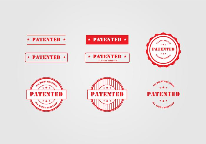 Patent Stamp Template - Download Free Vector Art, Stock Graphics - stamp template