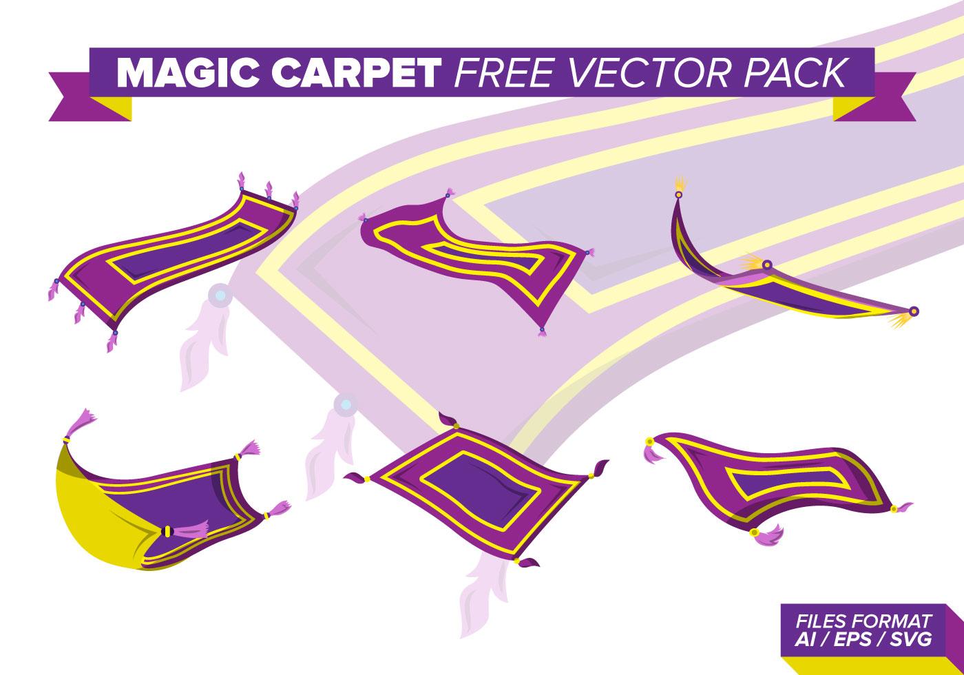 Pack De Vecteur Gratuit Magic Carpet Telechargez De L