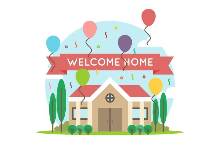 Free Home Vector - Download Free Vector Art, Stock Graphics  Images