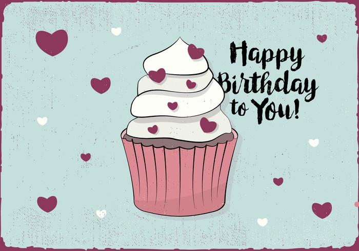 Happy Birthday Greeting Card - Download Free Vector Art, Stock - birthday greetings download free
