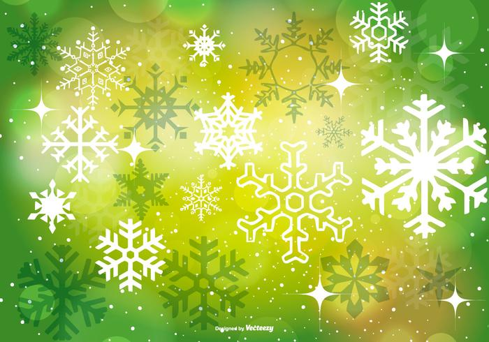 Beautiful Green Christmas Background - Download Free Vector Art - christmas background image