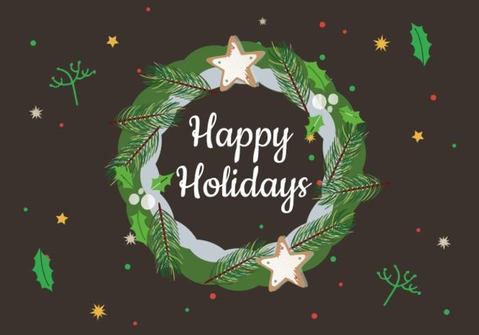 Happy Holidays Free Vector Art - (18228 Free Downloads) - free images happy holidays