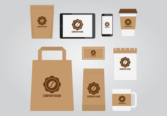 Coffee Branding Template - Download Free Vector Art, Stock Graphics