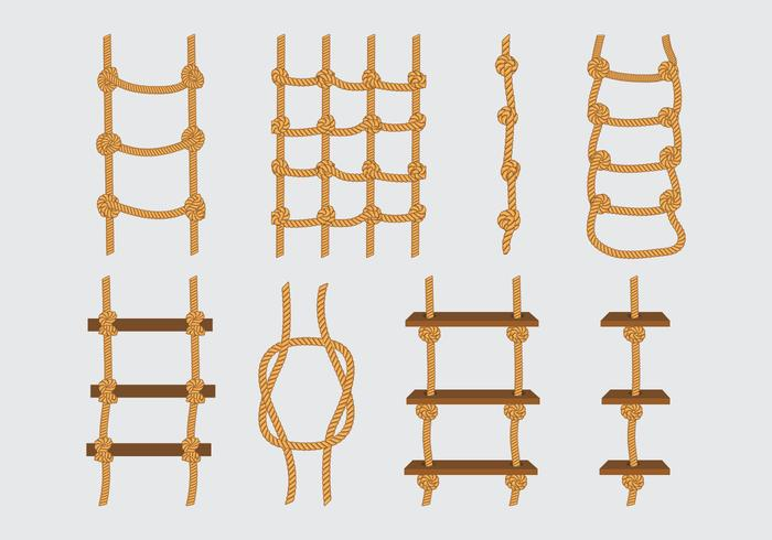 Rope Ladder Icons Download Free Vector Art Stock