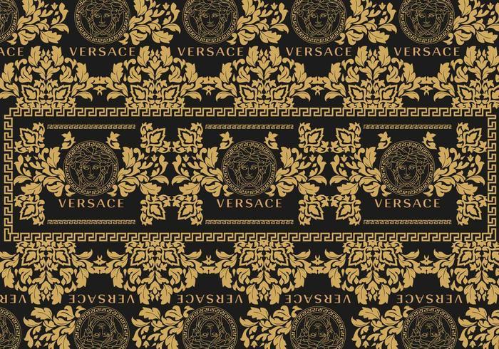 Crown Hd Wallpaper Versace Background 2 Vector Download Free Vector Art