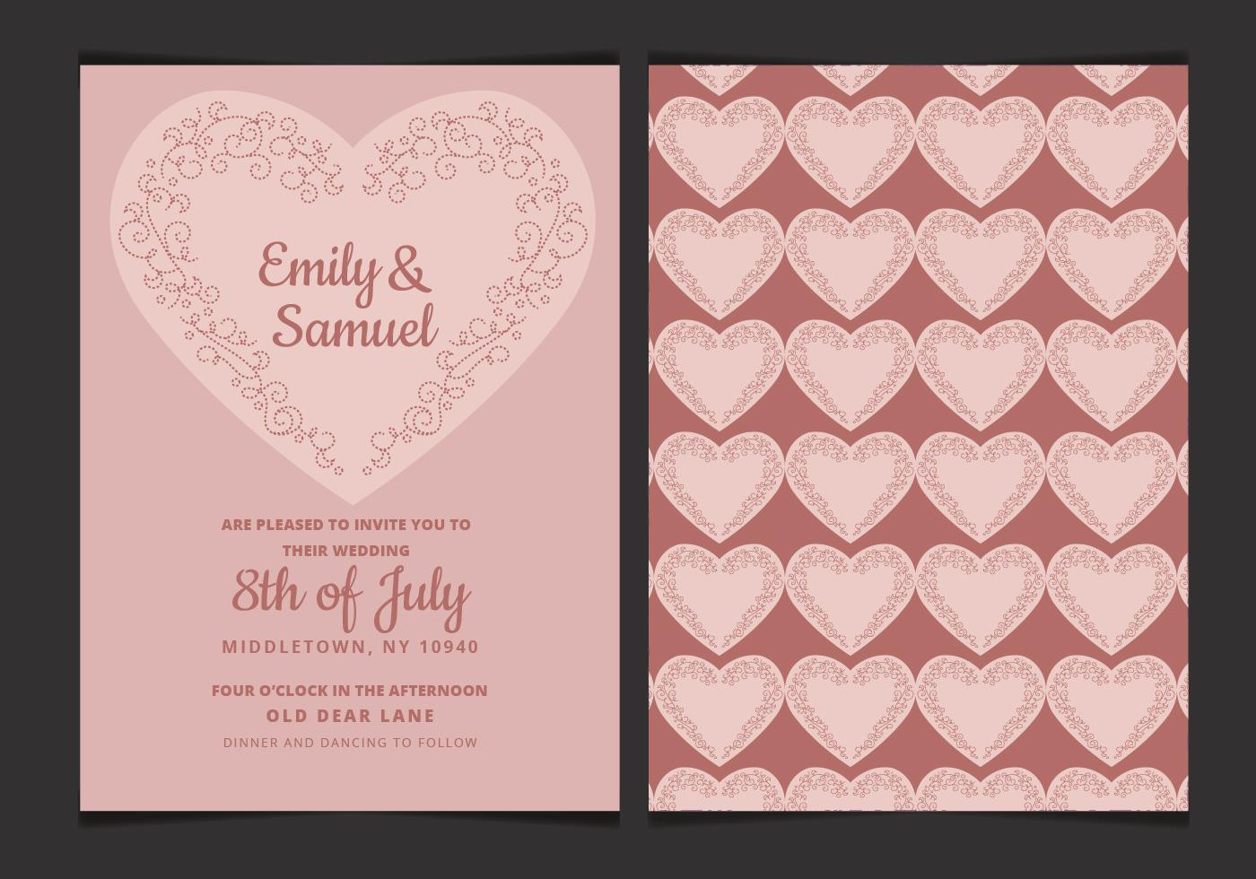 Heart Wedding Free Vector Art 6940 Free Downloads