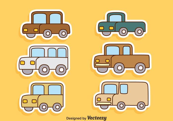 Cartoon Car Free Vector Art - (21360 Free Downloads)