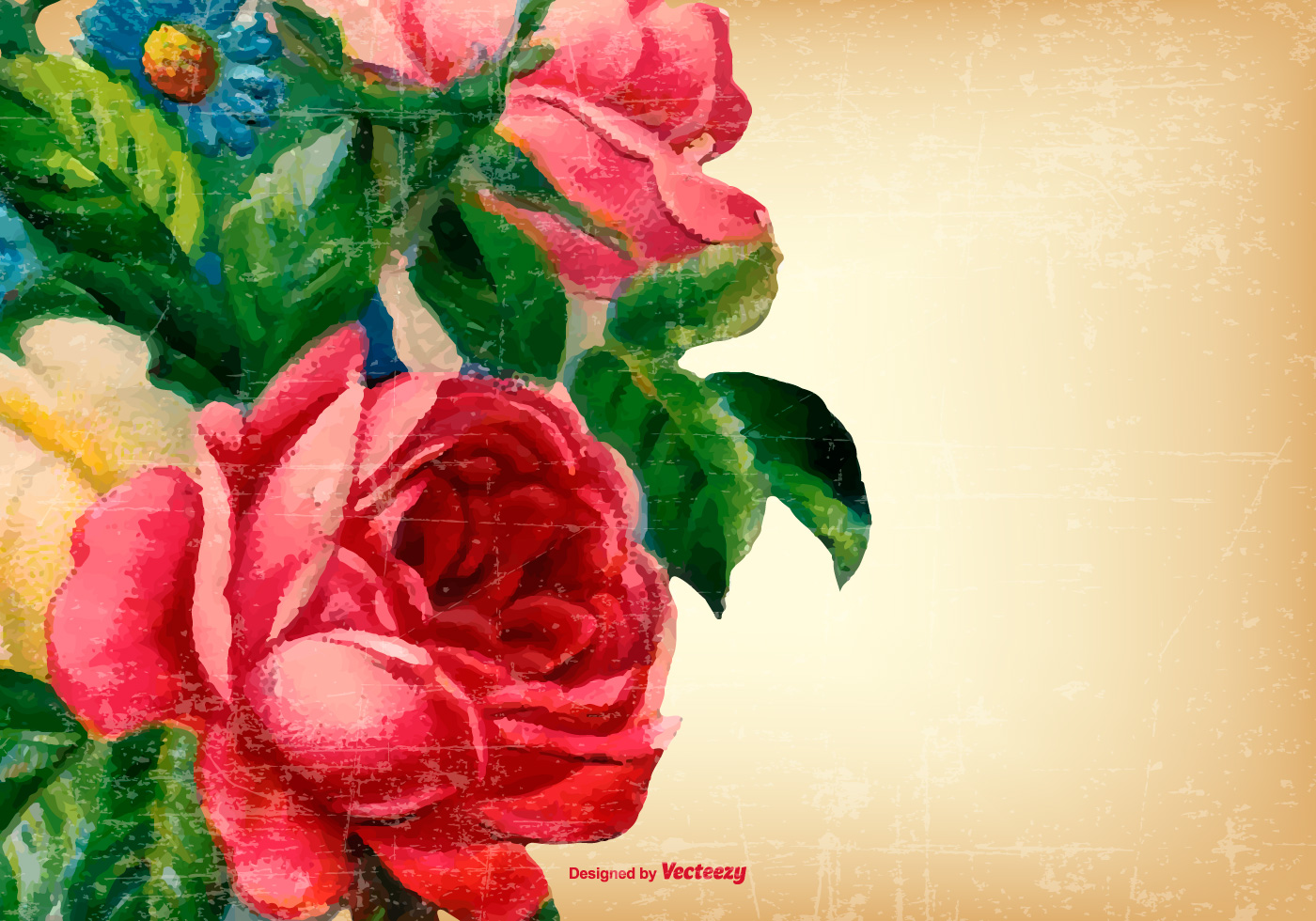 Vintage Grunge Flower Background Download Free Vector Art Stock Graphics Images