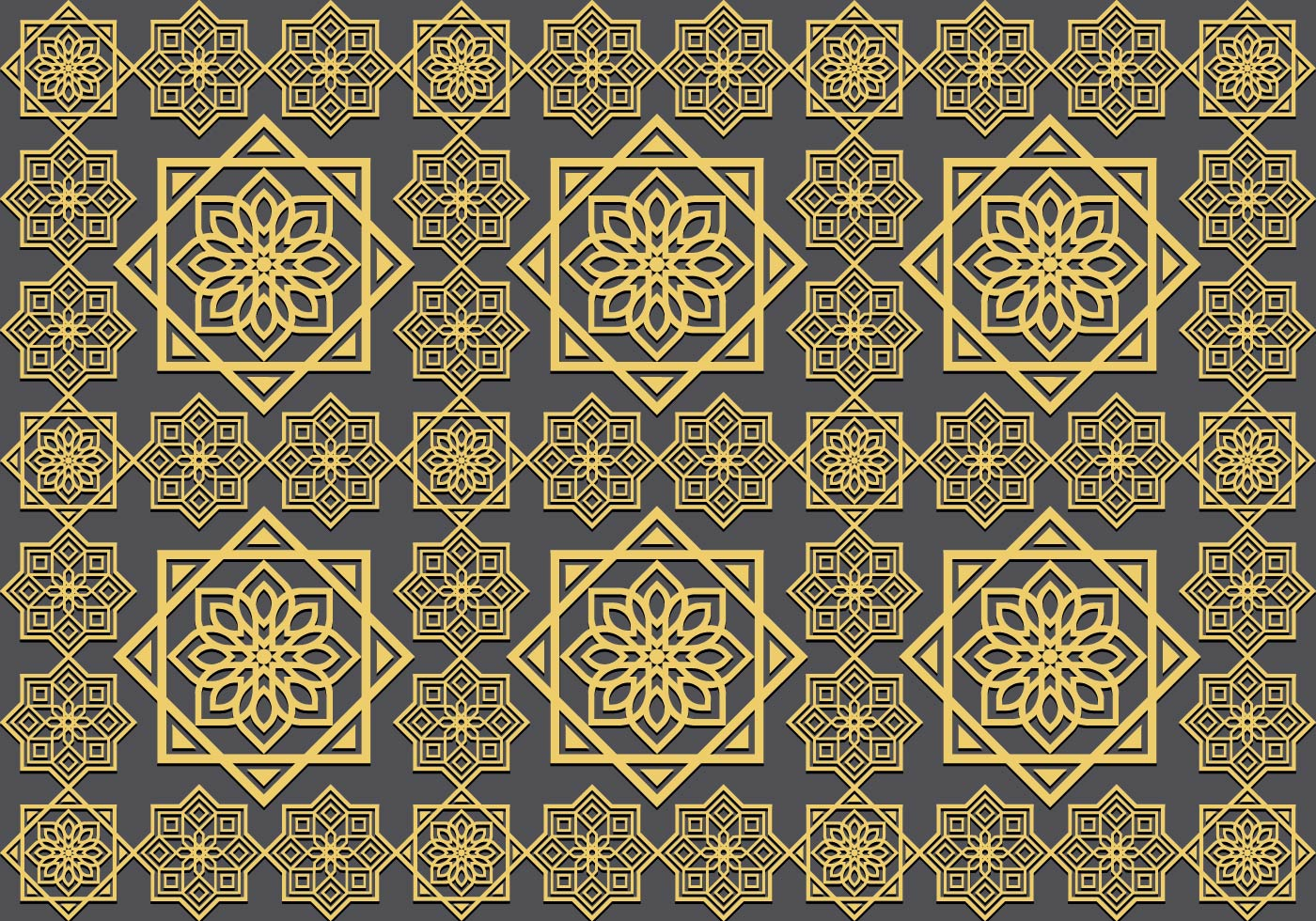 Islamic Ornament Seamless Pattern Download Free Vector