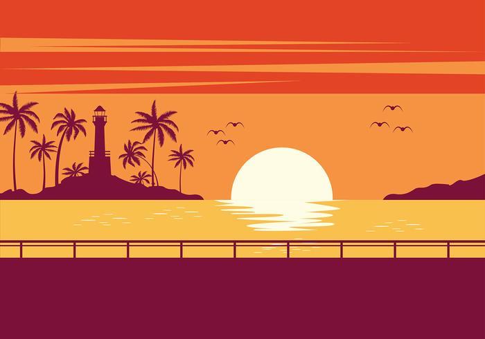 Wallpaper Hd Surfer Girl Playa Sunset Vector Download Free Vector Art Stock