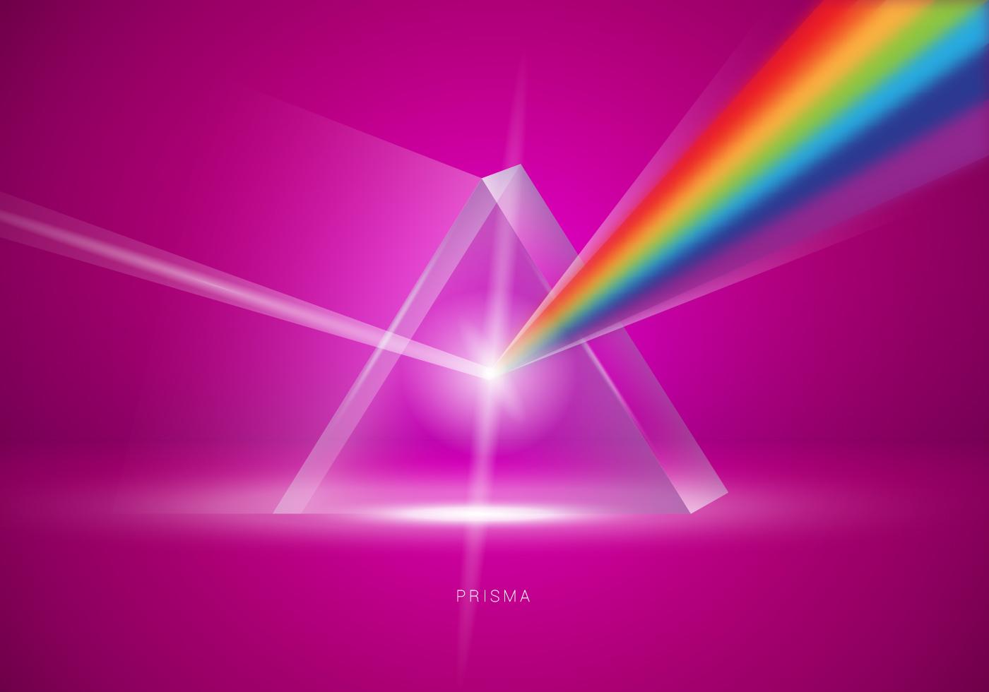 Cute Line Wallpaper Realistic Prisma Triangle Vector Illustration Download
