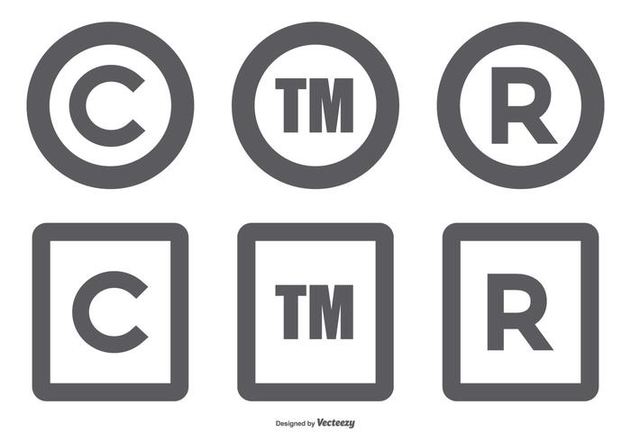 Copyright Symbol Collection - Download Free Vector Art, Stock