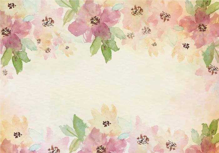 Kate Spade Desktop Wallpaper Fall Free Vector Vintage Watercolor Background With Painted