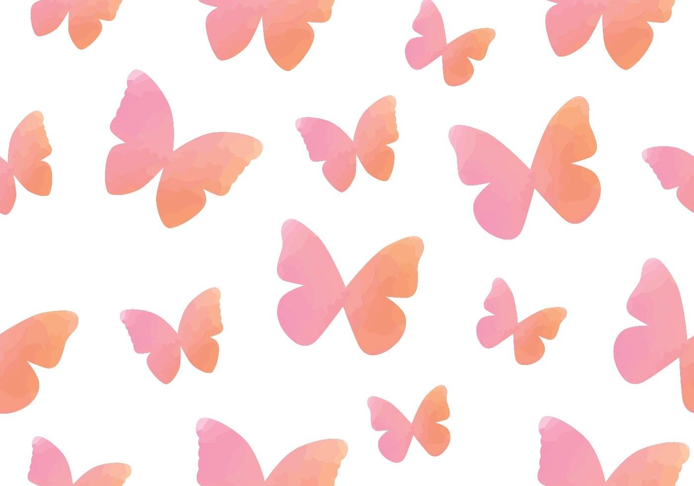 Cute Pattern Wallpaper Free Watercolour Butterfly Seamless Pattern Download Free