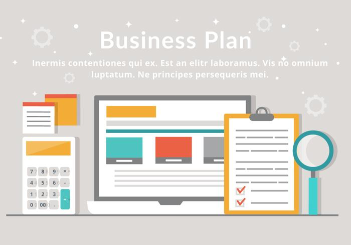 Free Business Plan Vector Elements - Download Free Vector Art - business plan elements