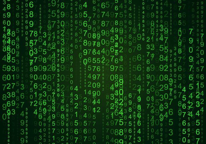 Matrix Falling Code Wallpaper Download Random Numbers Matrix Background Download Free Vector