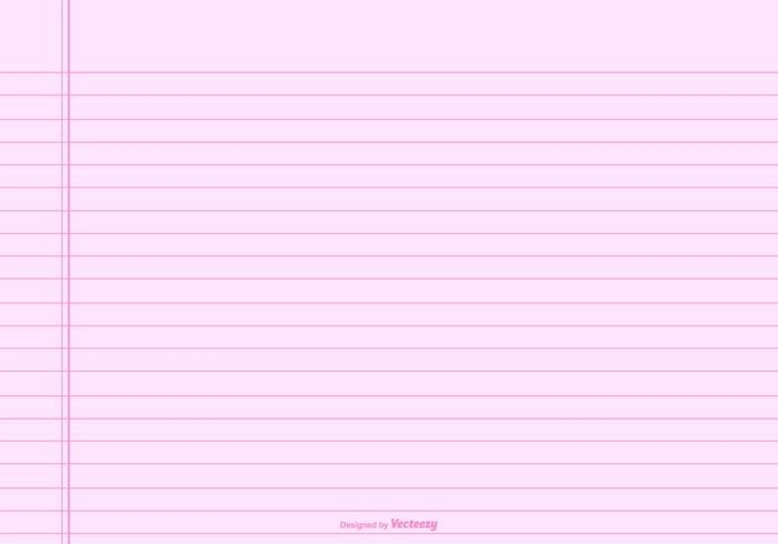 Notebook Paper Background Free Vector Art - (43684 Free Downloads) - line paper background