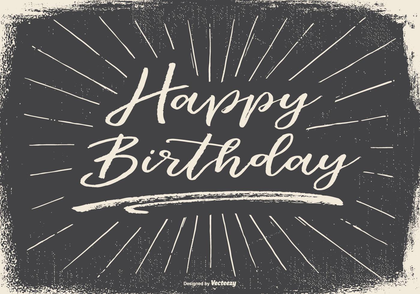 Hand Drawn Candy Set Vector Illustration Auto Electrical Wiring Kohler 4cm21 Generator Diagram Vintage Typographic Happy Birthday