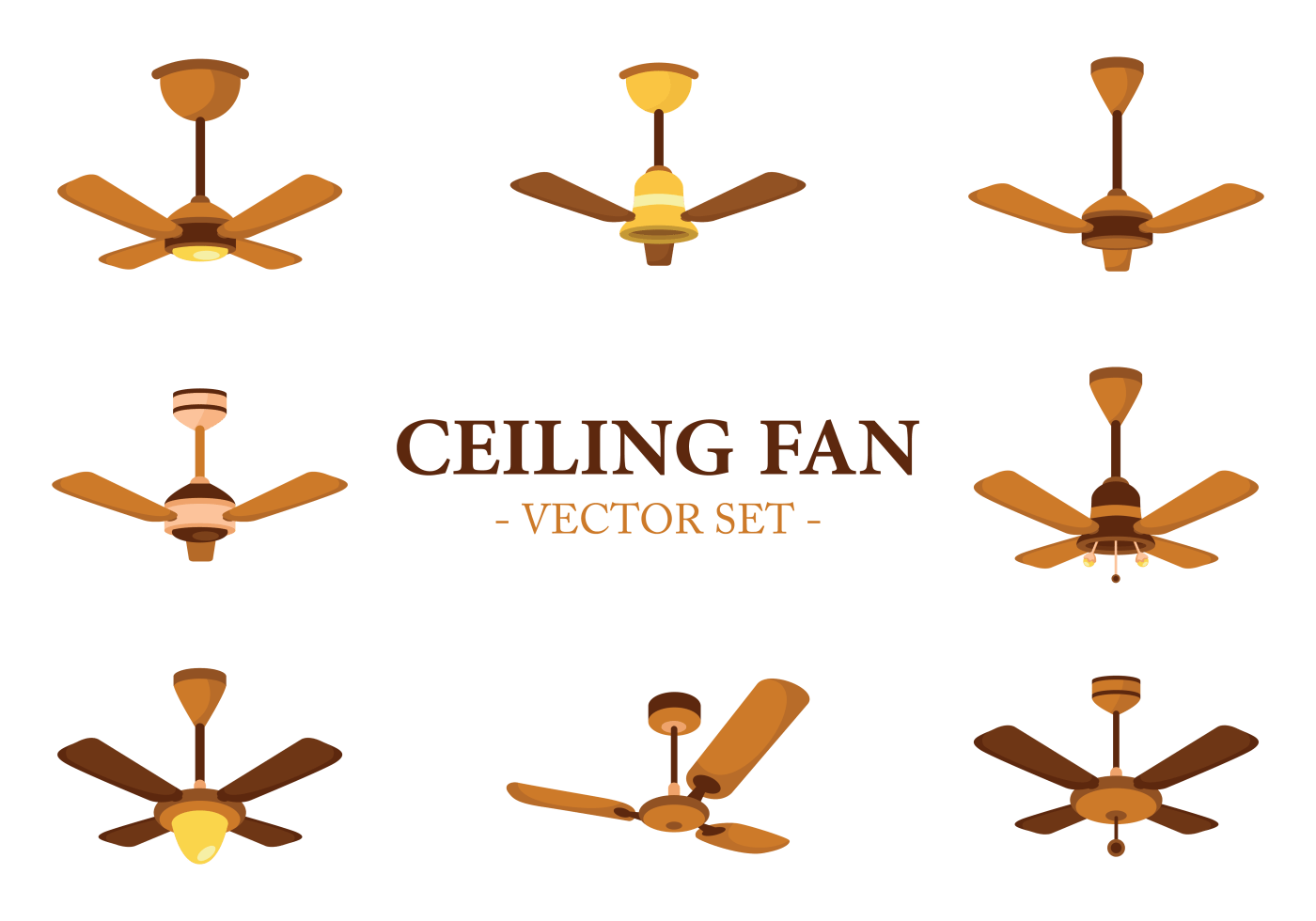 Ceiling Design Vector Ceiling Fan Icons Vector Download Free Vector Art Stock