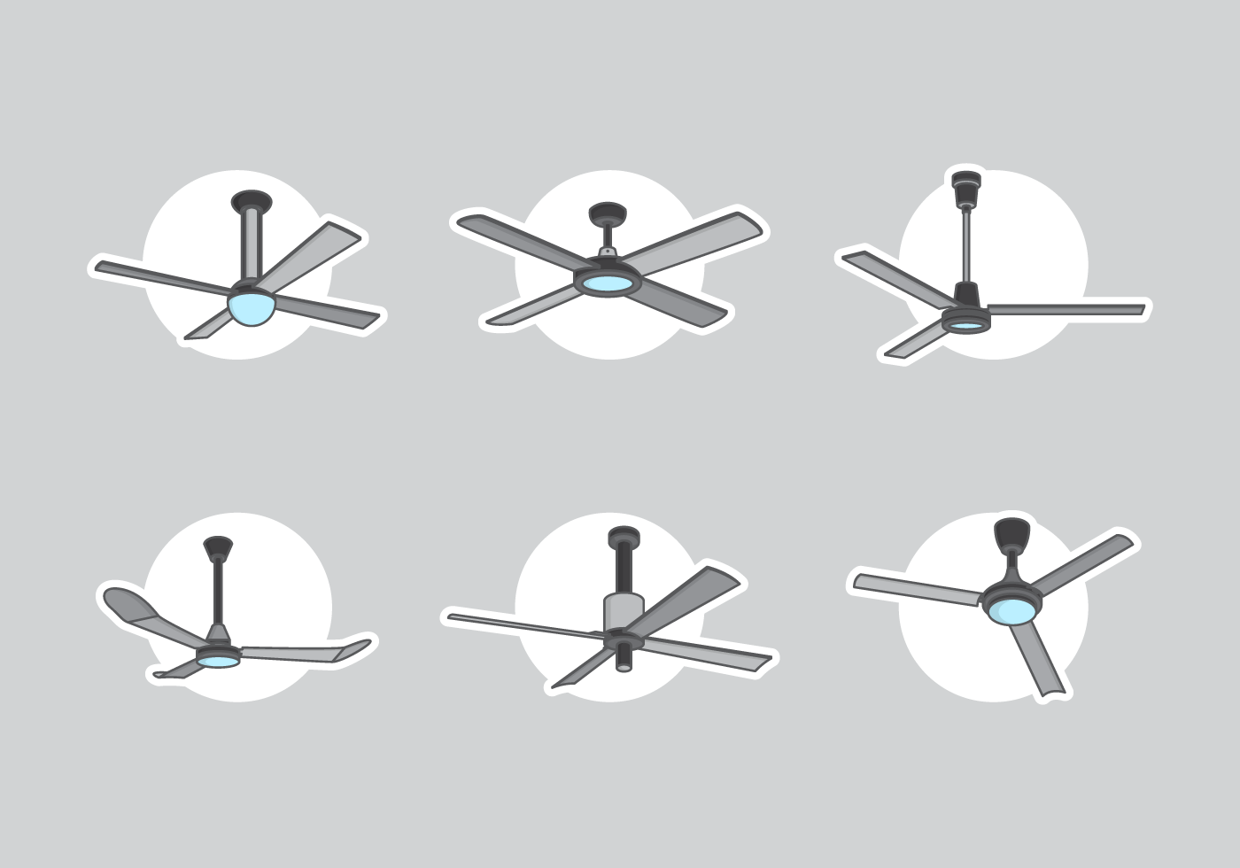 Ceiling Design Vector Ceiling Fan Free Vector Pack Download Free Vector Art