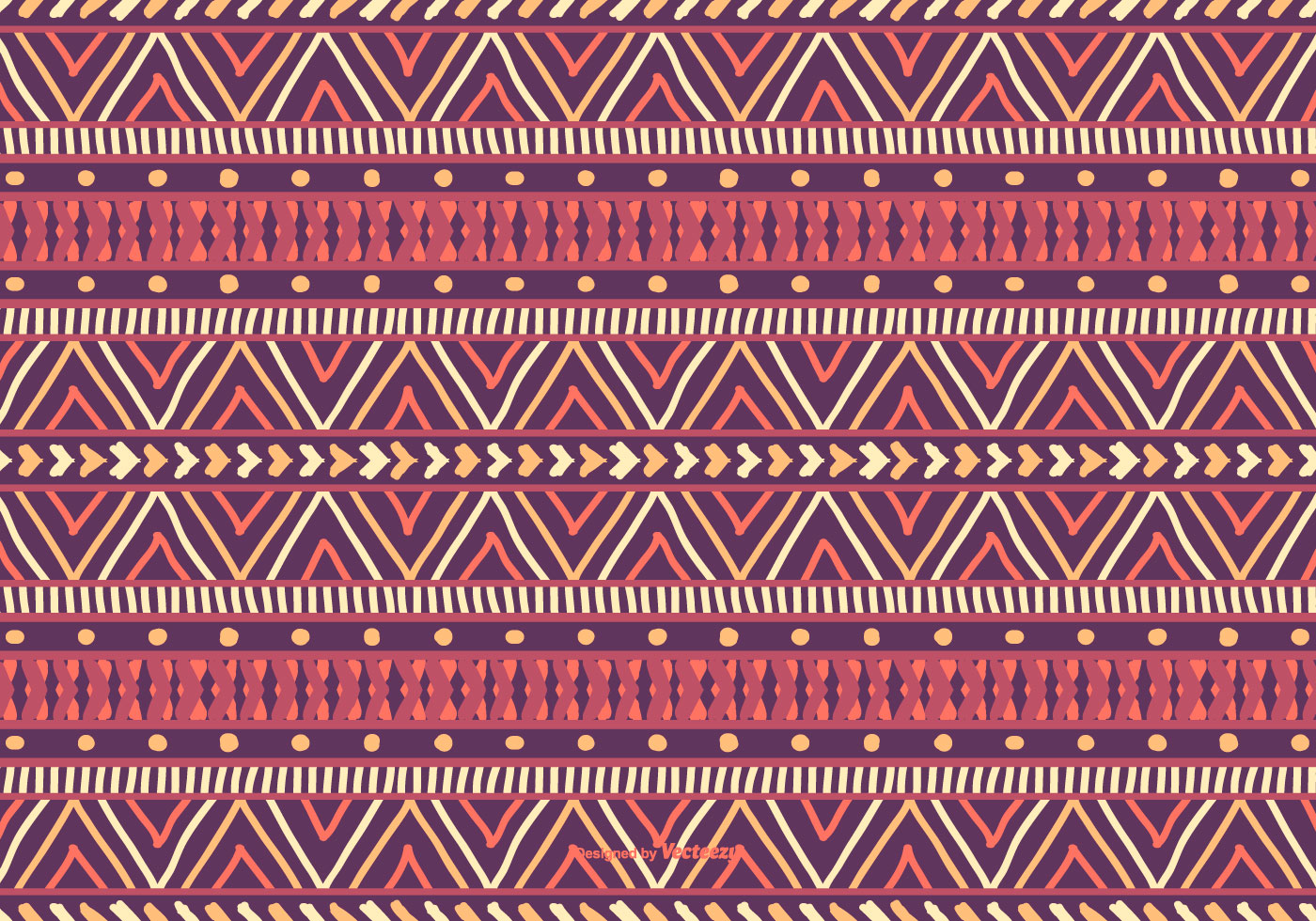 Tribal Cute Wallpaper Colorful Boho Style Pattern Background Download Free