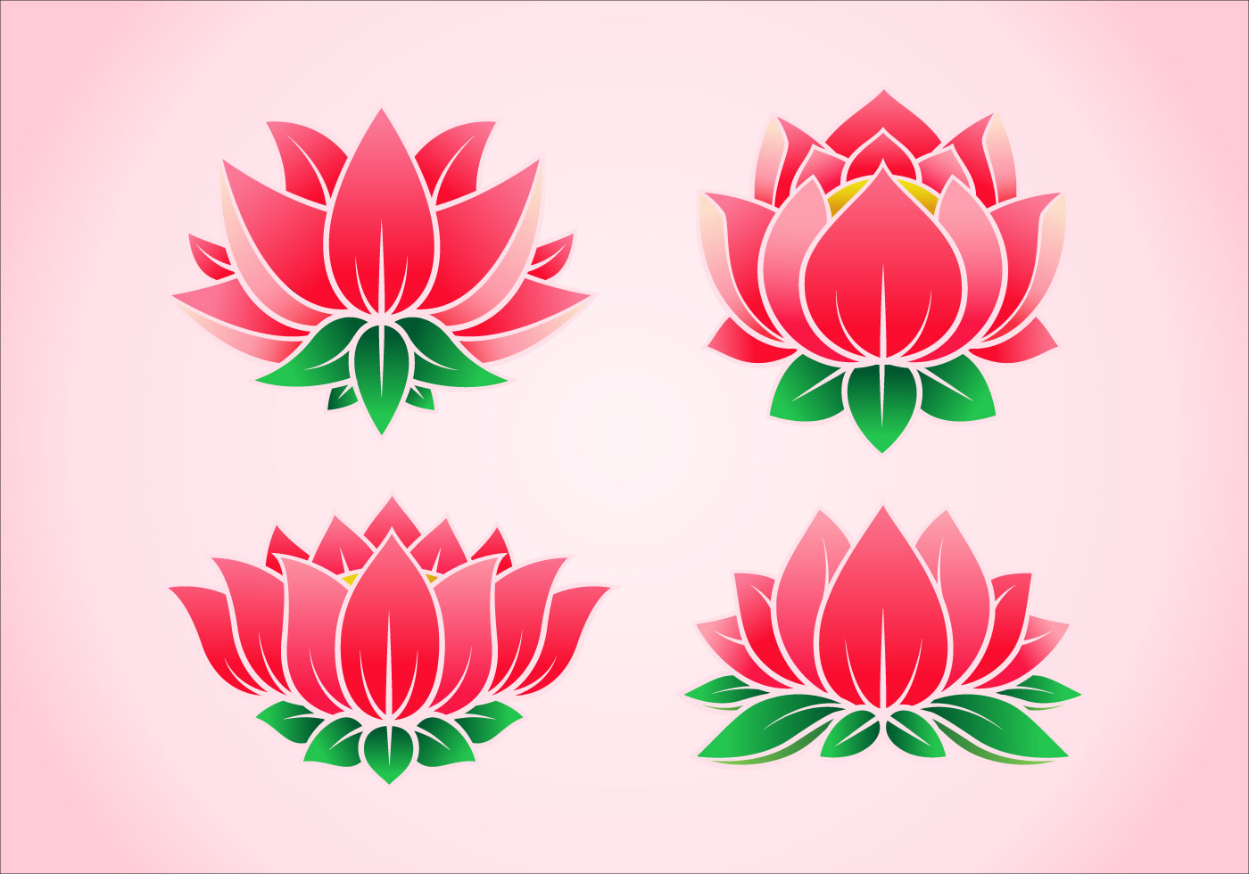 Wesak Wallpaper Hd Lotus Flower Vector 9010 Free Downloads