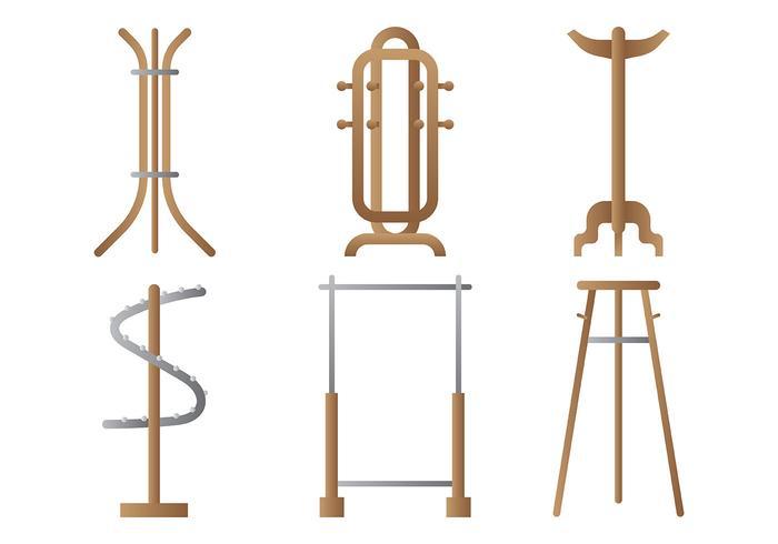 Coat Stand Vector Icons Download Free Vector Art Stock