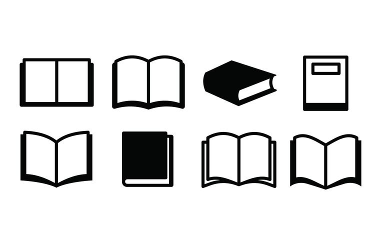 free book icons for cv