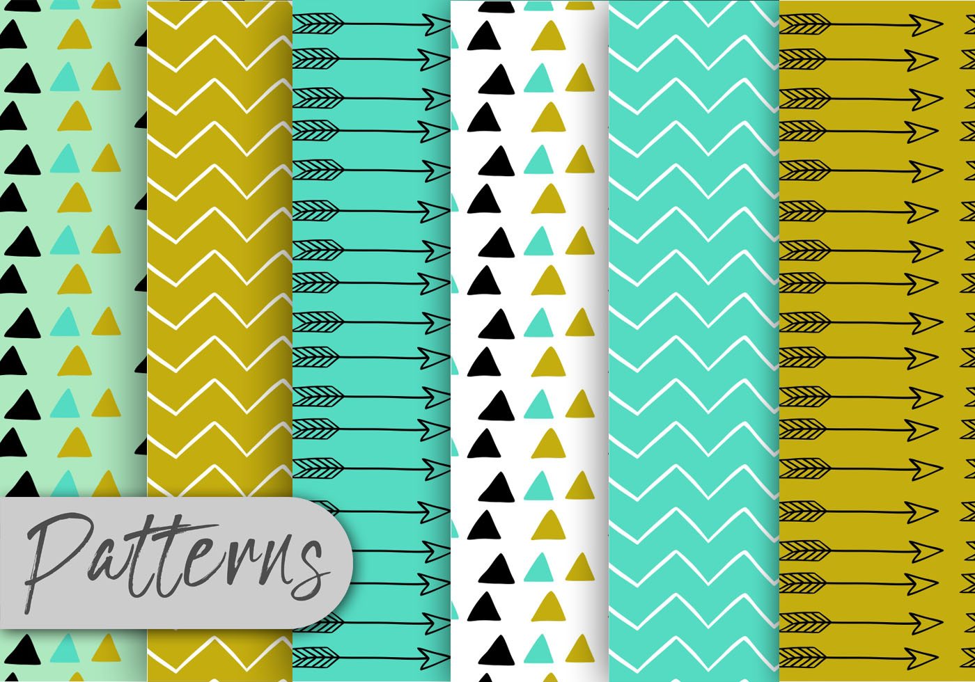 Cute Patterns For Wallpapers Cute Arrow Pattern Set Download Free Vector Art Stock