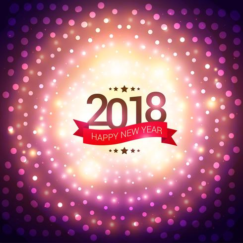 happy new year 2018 party invitation background - Download Free